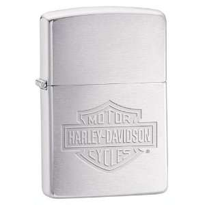 Racing Collectibles ZHD200HD.H199 Harley Davidson Stamped Logo Zippo