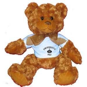 OF XXL POLO Plush Teddy Bear with BLUE T Shirt Toys & Games