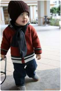Korean style Cute boy girl Trendy Baby Toddler child hat Knit Beanie
