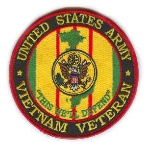 US Army Vietnam Veteran Patch