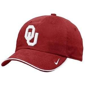 Nike Oklahoma Sooners Crimson Turnstile Hat