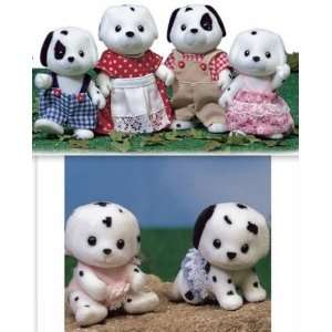 Critters Dalmatian Dog Family Twin Babies 2 Sets Figures Toys & Games