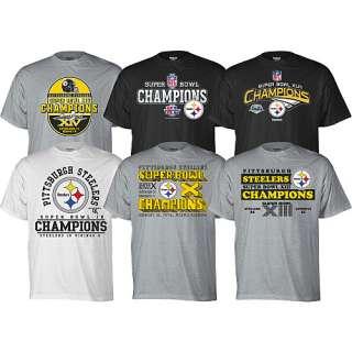 Pittsburgh Steelers Tees Reebok Pittsburgh Steelers Short Sleeve Super