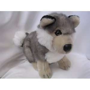 Wolf Wildlife Plush Toy 15 Collectible