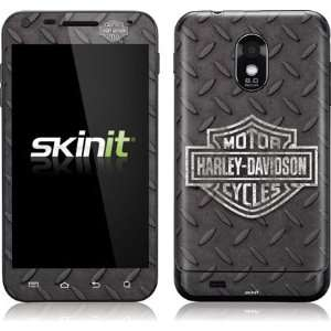 Skinit Black and White Harley Davidson Logo on Diamond