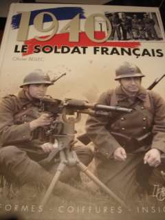 WW2 French France Army Uniform Headgear Insignia Reference Book Volume