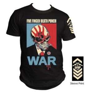 FIVE FINGER DEATH PUNCH war T SHIRT NEW S M L XL XXL