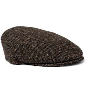 Accessories  Hats  Flat cap  Harris Tweed Wool Flat