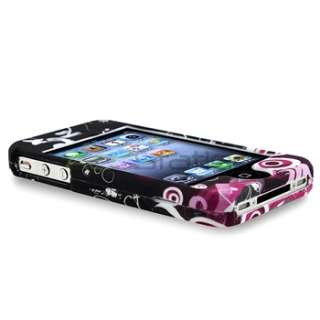 Case Skin Cover+Front Back LCD Guard For iPhone 4 4th 4S 4GS