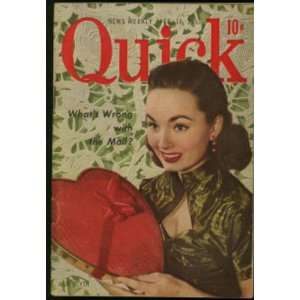 Quick Magazine (February 16, 1953) Ann Blyth cover (Volume