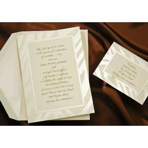 Wild Zebra Print Wedding Invitations Health & Personal