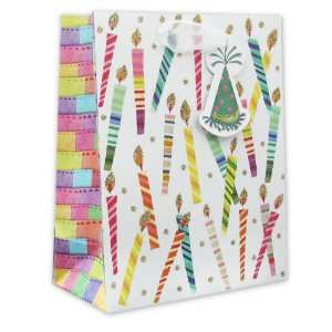 120 Pcs Premium Paper Gift Bags Bulk 7.5 x 6 x 3 (Birthday Make a Wish