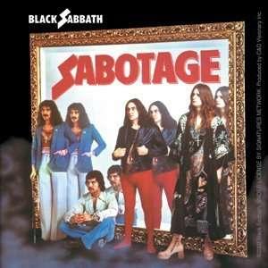 BLACK SABBATH SABOTAGE STICKER