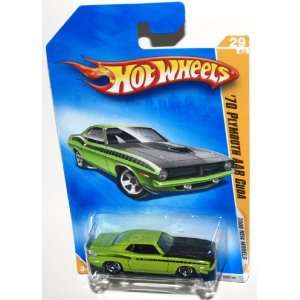 2009 Hot Wheels 2009 New Models, 1970 Plymouth AAR Cuda 29