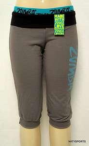Zumba Shake It Capri Pants Zumbawear Dance All Sizes