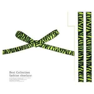 Fashion Leopard printed Shoe laces/Tiger/zebra (Zebra