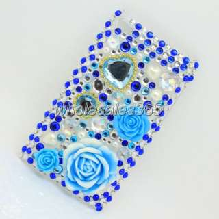brand new bling rhinestone crystal diamond hard case skin cover pouch