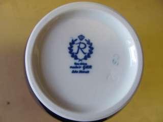 Vase Echt Kobalt Reichenbach Porzellan