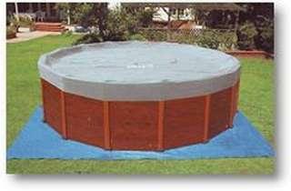 INTEX Wood Grain Frame Pool Schwimmbecken 508 x 124