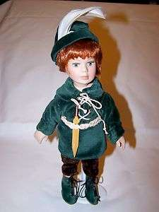 Edition Seymour Mann Peter Pan Tiny Tots Doll w/Stand   NEW in Box