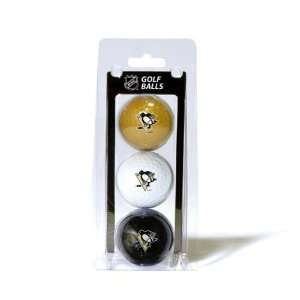 NHL Pittsburgh Penguins 3 Ball Clam