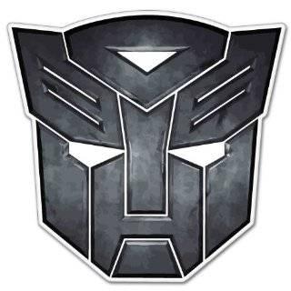 Autobot insignia Transformers bumper sticker 4 x 4