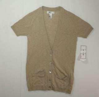 Kikit Womens Short Sleeved Cardigan Lightweight Sweater Size S M L XL