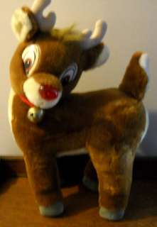 Vintage Applause Rudolph Red Nosed Reindeer 23 Plush