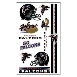 NFL Football Team Temporary Tattoos, Atlanta Falcons
