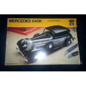 Mercedes 540K 1/24 scale model kit Toys & Games