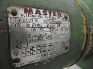 ENERPAC HYDRAULIC PUMP POWER UNIT MODEL PE641 1 HP 10,000 PSI