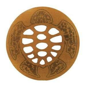 Laser Cut & Etched Wood Coasters Turtle Round Kitchen & Dining