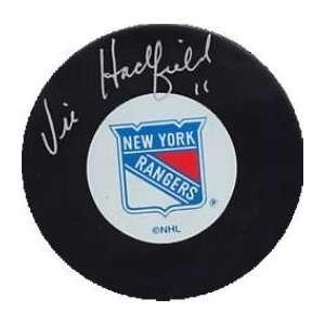 Vic Hadfield Autographed/Hand Signed New York Rangers Hockey