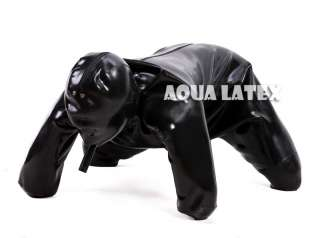 Unisex Rubber Doggie Suit, Latex Dog Suit 0.8mm
