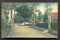 Magelang New Officers Camp KNIL Java Indonesia ca 1910