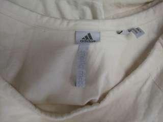 DESCRIPTION  Stella Mc Cartney Adidas Ivory $204 logo Shirt Top XS