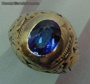 1930 S.F.High School 10K Gold Ring 11.3 Grams