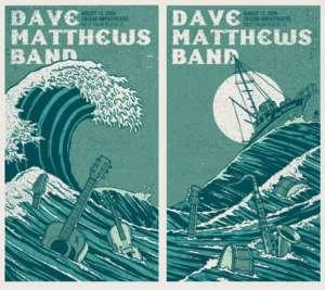 Dave Matthews Band Poster 09 West Palm Beach Set #/600