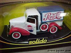1936 FORD V8 PEPSI COLA PRESTIGE FRANCE SOLIDO 1983 MIB