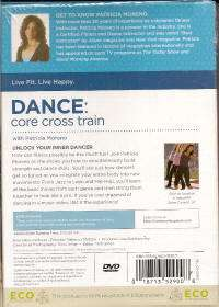 Patricia Moreno DANCE CORE CROSS TRAIN Body Toning DVD