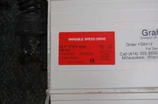 DANFOSS GRAHAM VLT 3500 30HP VARIABLE SPEED DRIVE 440 500V 175H7367
