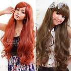 Clair Beauty Cosplay Womens long straight curly Full Hair Wig & Cap