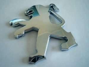 PEUGEOT Lion Logo Badge Emblem *206 306 307 406 407