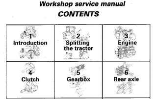 MASSEY FERGUSON TRACTORS SHOP SERVICE MANUAL MF6260 MF6265 MF6270