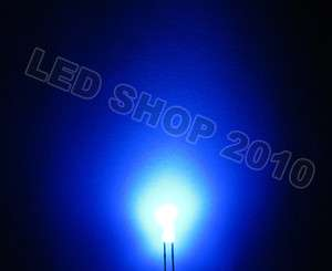50pcs 3mm Round Diffused Blue LED 5K MCD Bulb Light