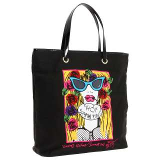 Betseyville Black Super Betsey 2 Face Shopper