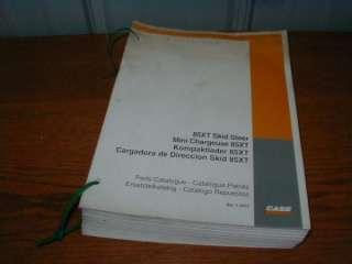 CASE 85XT Skid Steer Loader Parts Catalog 7 2473 (A37)