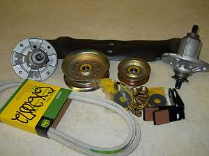 John deere 42 deck rebuild kit for LA100, X100, And current 100