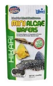 HIKARI Mini ALGAE WAFERS 3oz ~ tropical fish tank food