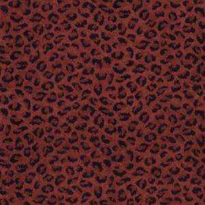 The Wallpaper Company 56 sq.ft. Red Leopard Print Wallpaper WC1281253